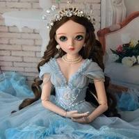 60cm bjd doll 13 princess dolls 18 jointed body change eyes girl doll diy girls toys christmas present