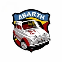 fashion fiat abarth 695 ss car stickers and decals diy 3d scratch proof anime decals simulation motorcycle decals waterproof pvc