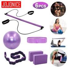 Fasce di resistenza Yoga ginnico corda da tiro palestra portatile allenamento Pilates Bar Yoga Balance Ball Yoga Block Brick attrezzature per il Fitness