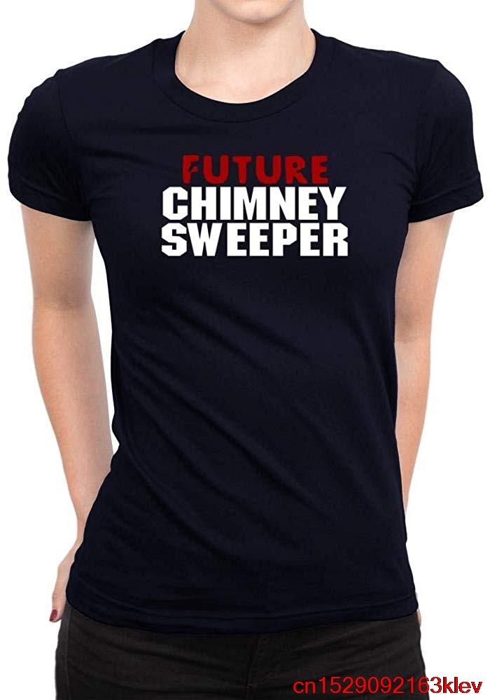 FGHFG Future chimenea Sweeper mujer camiseta Unisex hombres mujeres camiseta