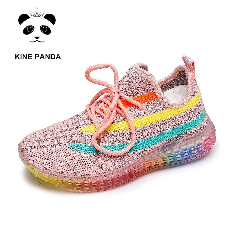 KINE PANDA Kids Boys Girls Sport Running Shoes 2 3 4 5 6 7 8 9 Years Old Footwear for Children's Sneakers Teen Toddler Trainers