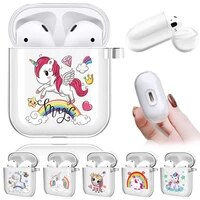 soft silicone cases for apple airpods 12 protective bluetooth wireless earphone cover for air pods cute pattern charging box