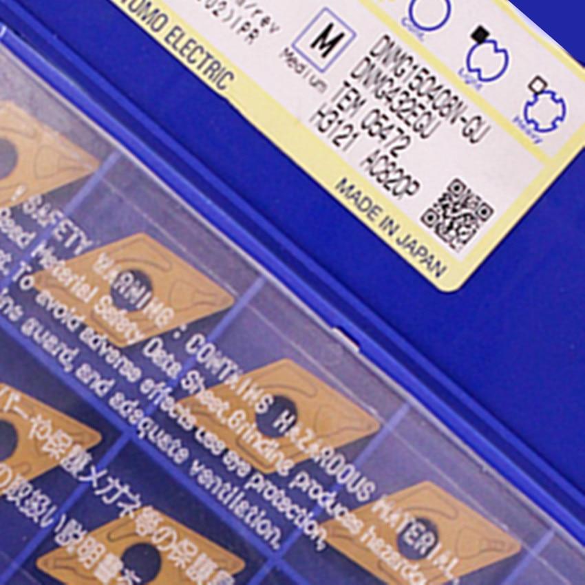 DNMG150408N-GU AC820P / DNMG150408N-GU AC2000 / DNMG150408N-GU AC725 / DNMG150408N-GU AC700G CNC carbide inserts 10PCS/BOX