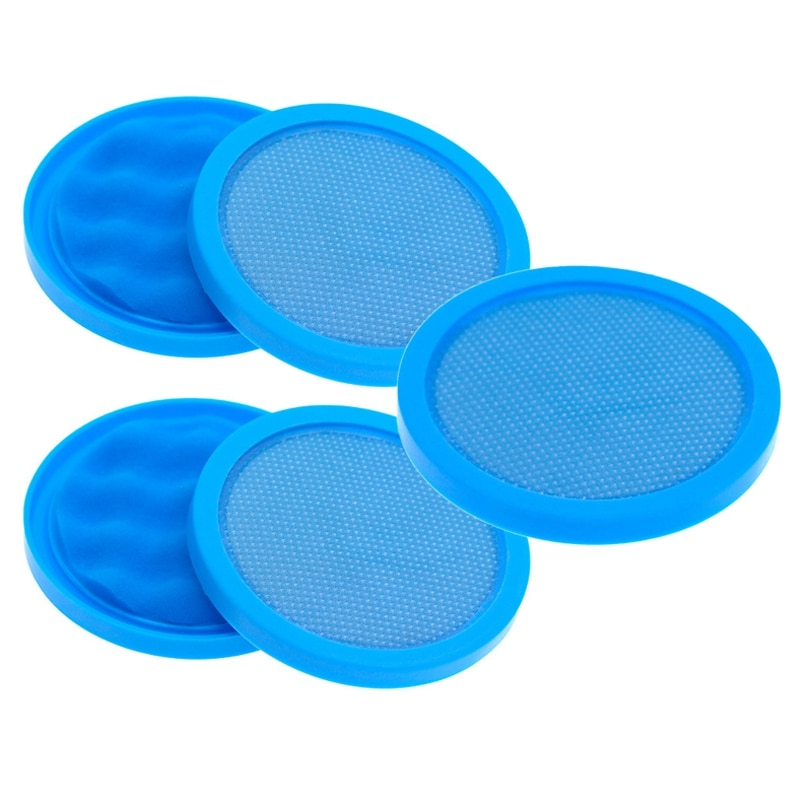 5Pcs Cotton Filter for Puppyoo D-9002 D9002 Vacuum Cleaner Parts Accessories Blue More Durable Filter Core