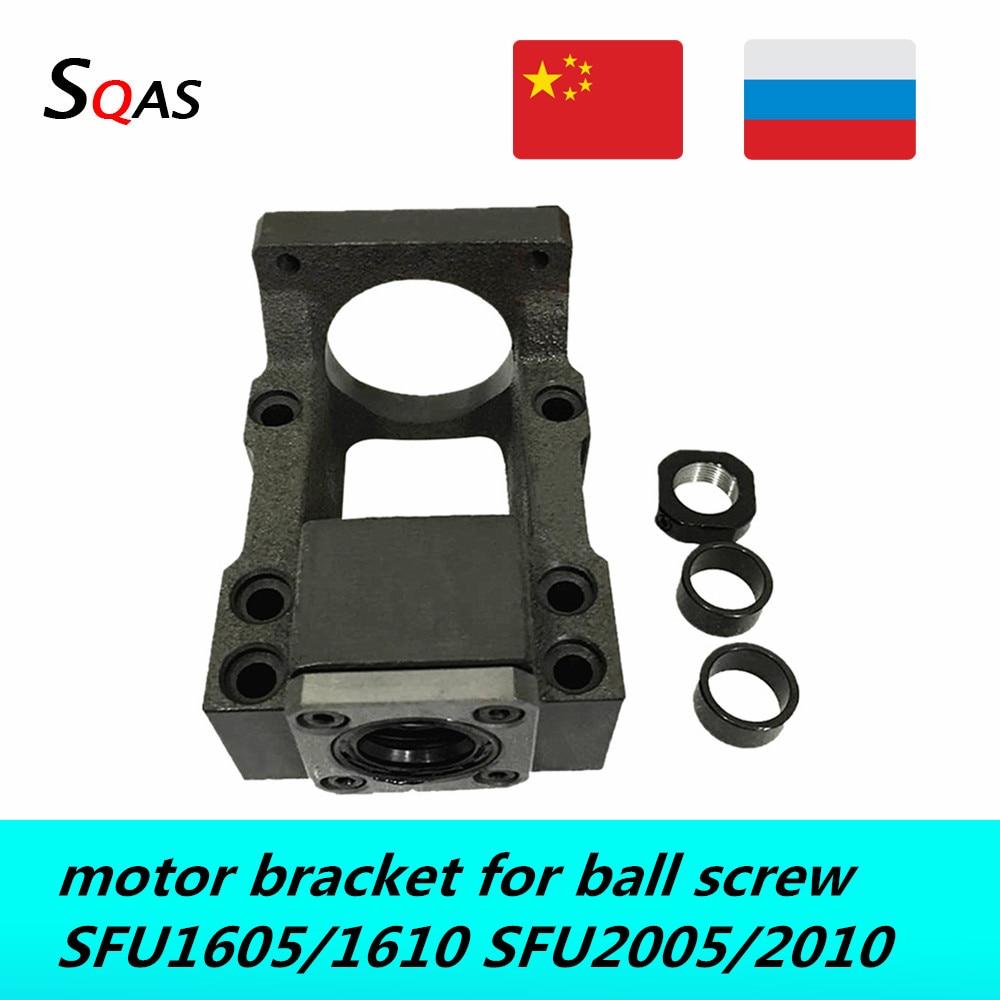 جزء CNC 45 # فولاذ C5 C7 ، حامل محرك/حامل محرك BK12 BK15 ، وحدة دعم لـ ball screw SFU1605 SFU2005