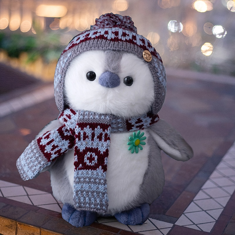 Super soft cute penguin Doll Girl Doll Girl Doll Girl Cute Child birthday gift plush toy cute resin bride and bridegroom toy doll