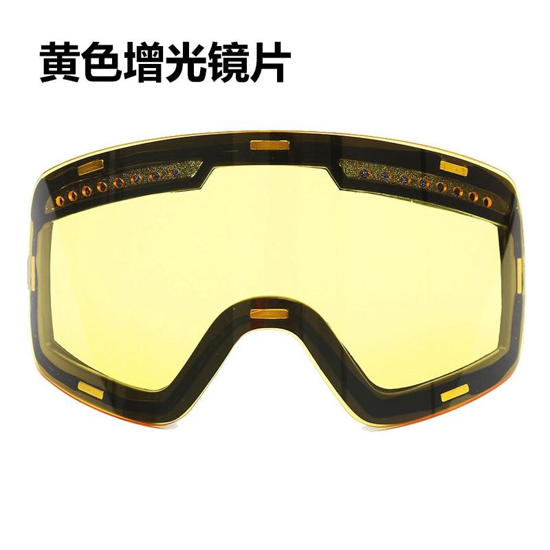 Fj037, gafas de esquí cilíndricas, producto original brillante, lentes, piezas de galvanoplastia antiniebla, luces nocturnas, deflectores