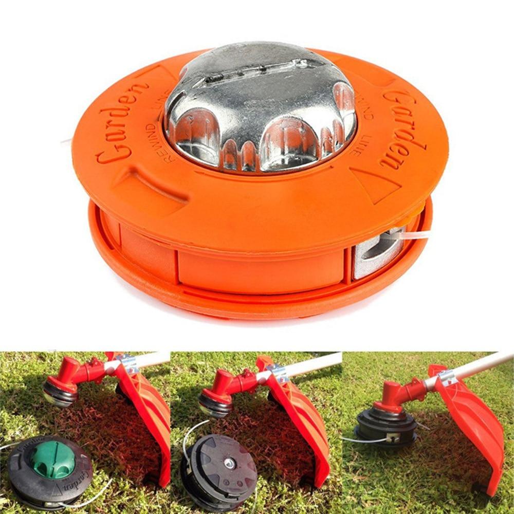 Universal Brush Cutter Head M10 Aluminum Nylon Brush Lawn Mower Bump Spool Grass Trimmer 2 Lines Cutter Head Trimmer Reel
