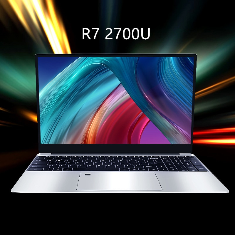 Get RAM 20GB 1TB SSD Ultrabook Metal Computer with 2.4G/5.0G Bluetooth Ryzen R7 2700U windows 10 Pro Metal portable gaming laptop H7