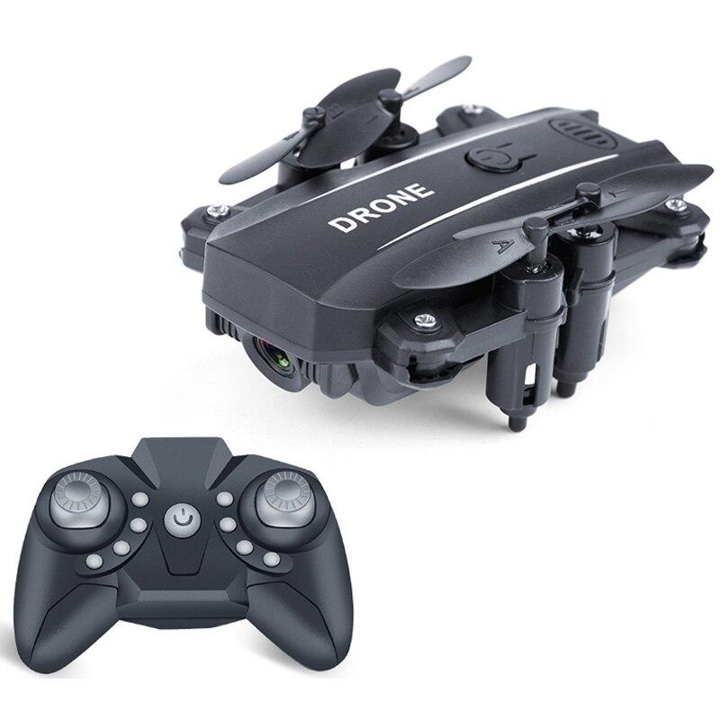Fpv Mini Drone helicóptero Drone para Selfie Gps Drones Quadcopter gran angular plegable, 1080P Cámara negro
