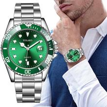 Hot Sales Mens Watches Top Brand Luxury Men Fashion Military Stainless Steel Date Sport Quartz Analo