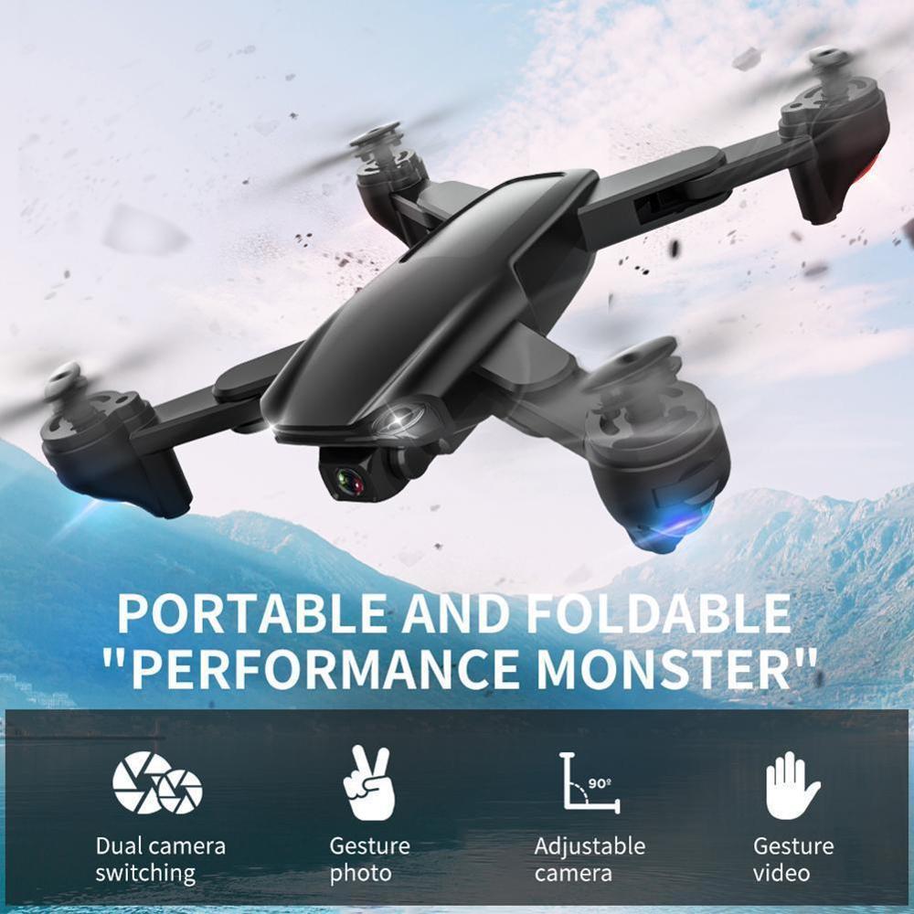 SG701 Mini Drone WIFI 5G Anti-secousse auto-stabilisant cardan FPV 4K caméra quadricoptère Satellite Anti-perte positionnement