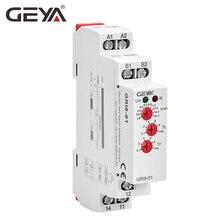 Geya GRI8 Huidige Relais Monitoring Bereik Overstroom Onderstroom Schakelaar 0.05A-16A AC24-240V Of DC24V