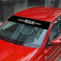car sticker for nissan rogue decoration decals car front rear windshield prevent sunlight reflection styling accessories
