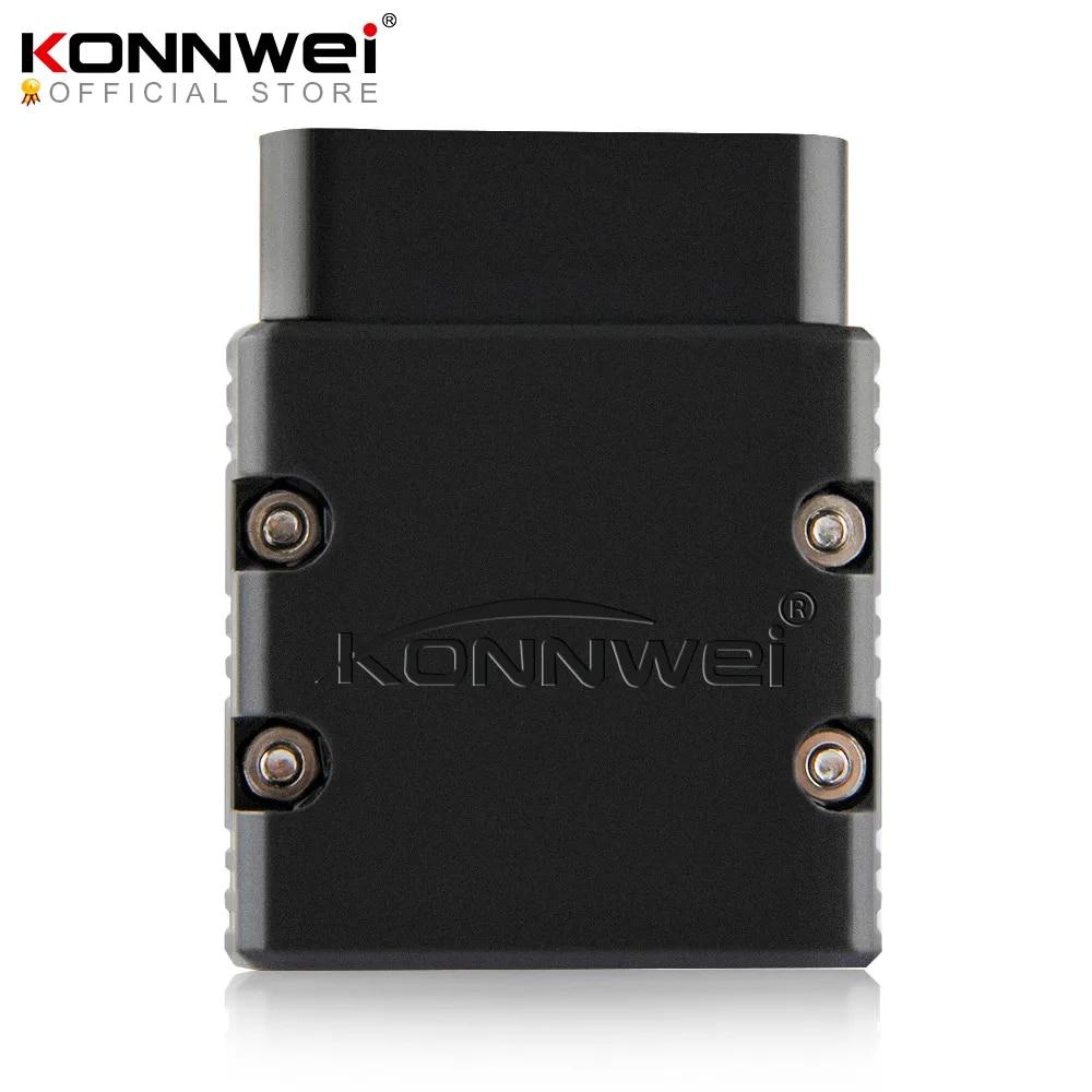 KONNWEI – ELM327 Scanner de voiture, Wifi V1.5 PIC25K80 KW902, prise en charge IOS pour iPhone et PC Android, protocole Obd2 complet