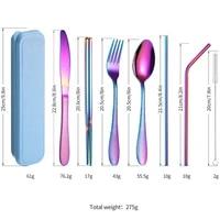 2021 household stainless steel gold dinnerware set steak knife fork coffee spoon teaspoon tableware kitchen