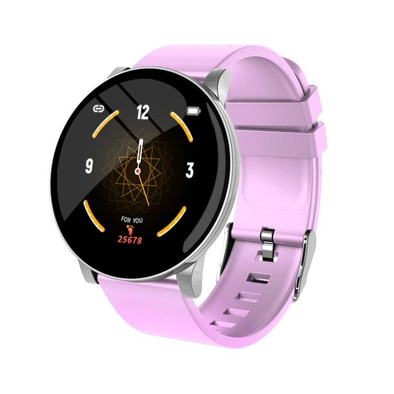 Nuevo reloj deportivo inteligente con rastreador Watchs W8, pulsera de frecuencia cardíaca, presión arterial, reloj inteligente para hombres y mujeres, rastreador de relojes deportivos