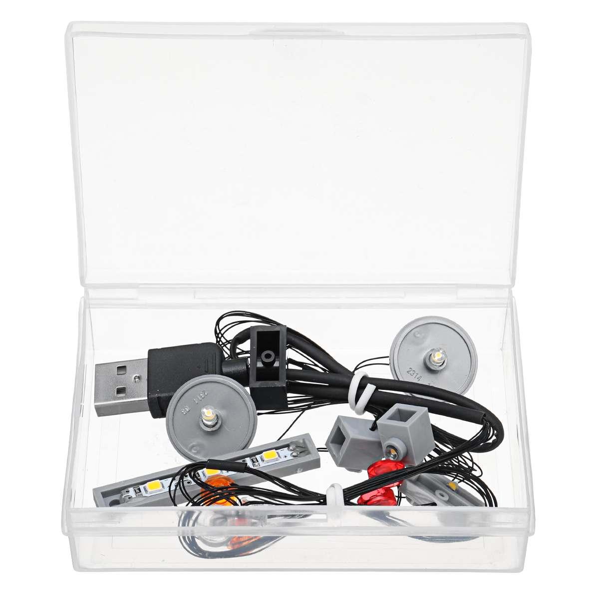 Kit de iluminación de luz LED solo para bloques de construcción 10262 DB5, juego de luces (modelo no incluido)