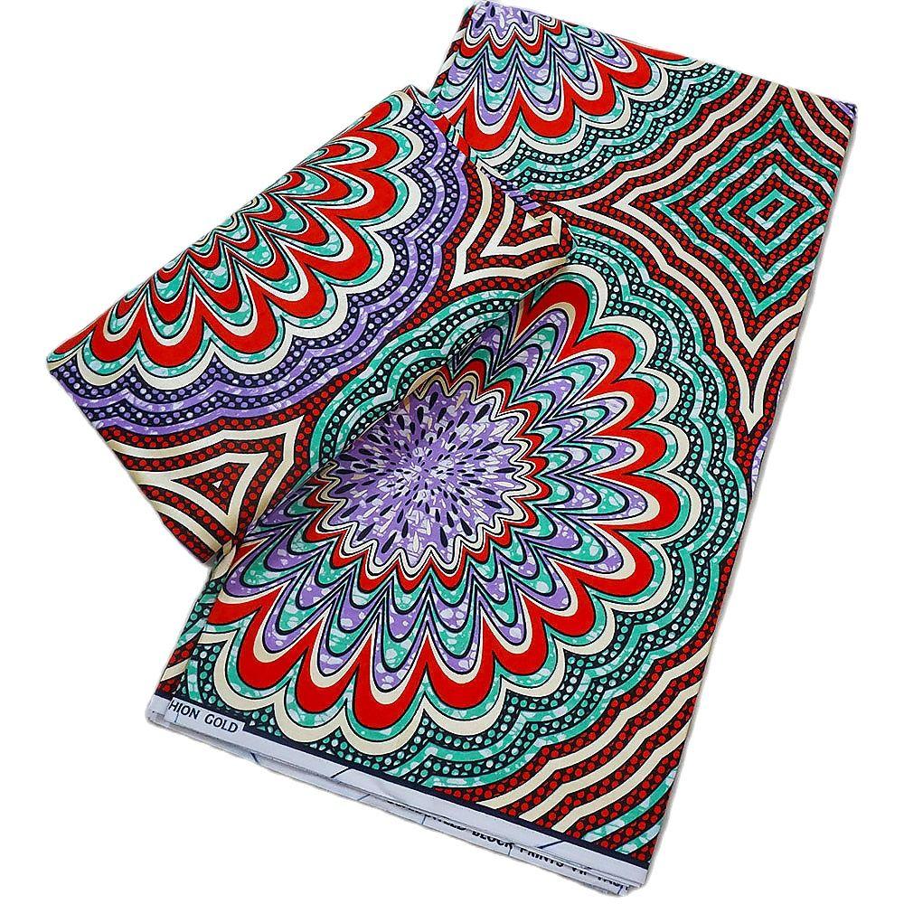 African print wax fabric 6yard cotton soft Ankara print wax fabric for wedding dress sewing high quality недорого