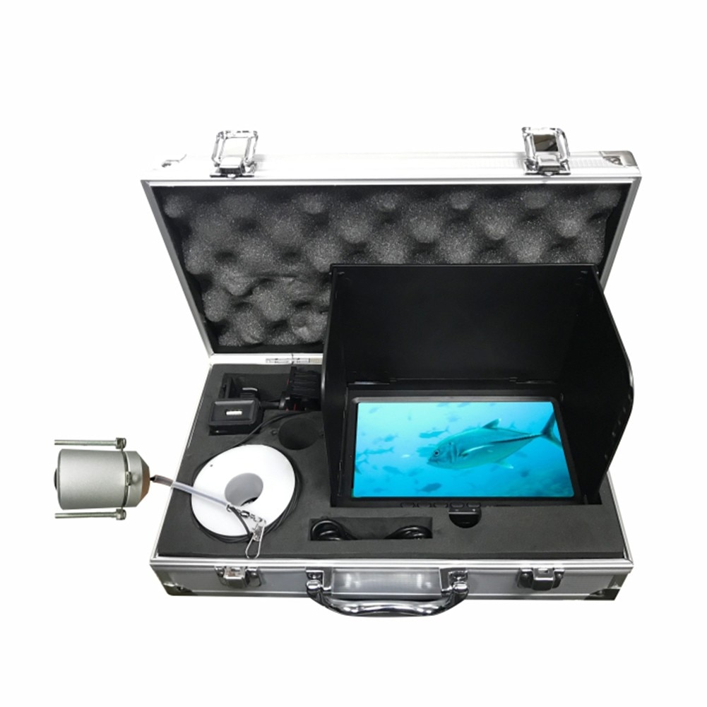 High-Definition Underwater Fishing Camera Waterproof 180 Degrees Fish Finder For Ice/Sea Fishing Portable Fish Detector Monitor