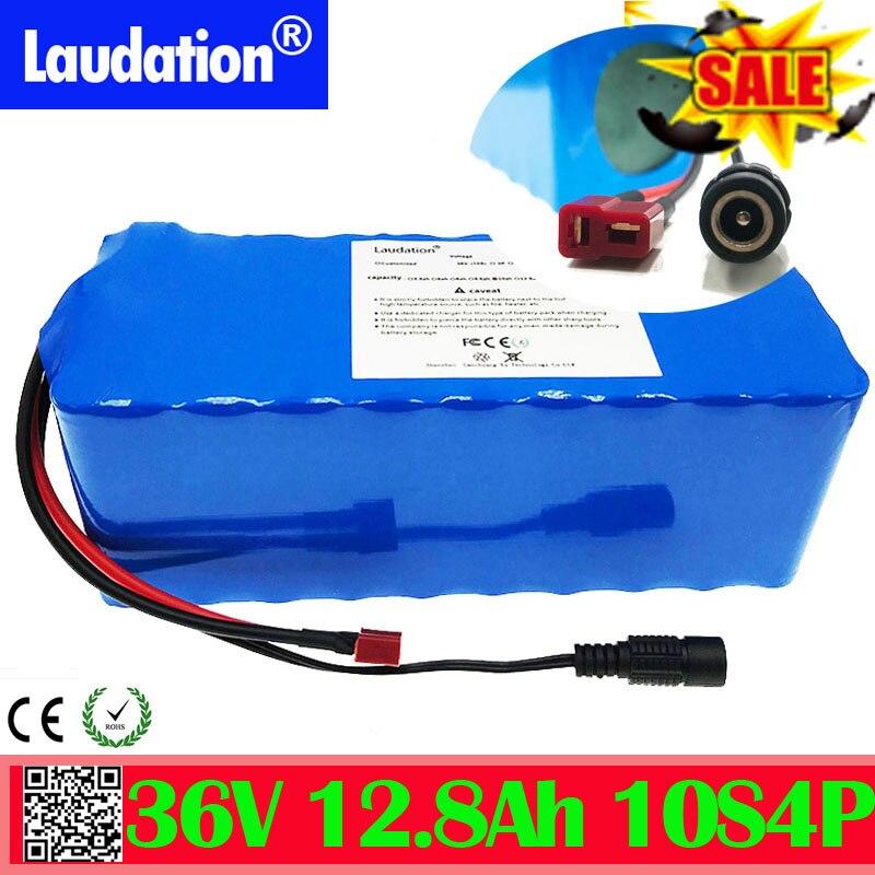 36 v bateria de lítio 12ah bicicleta elétrica bateria 18650 bateria 10s4p 500 w alta potência e capacidade motocicleta scooter com bms