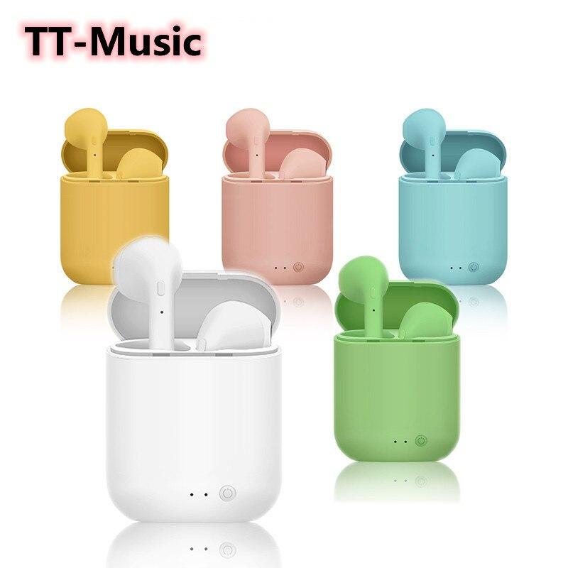TWS WirelessHeadphone Bluetooth Earphones Waterproof Earpieces Sport Earbuds fone bluetooth for Oppo Music Earphones Xiaomi ipad