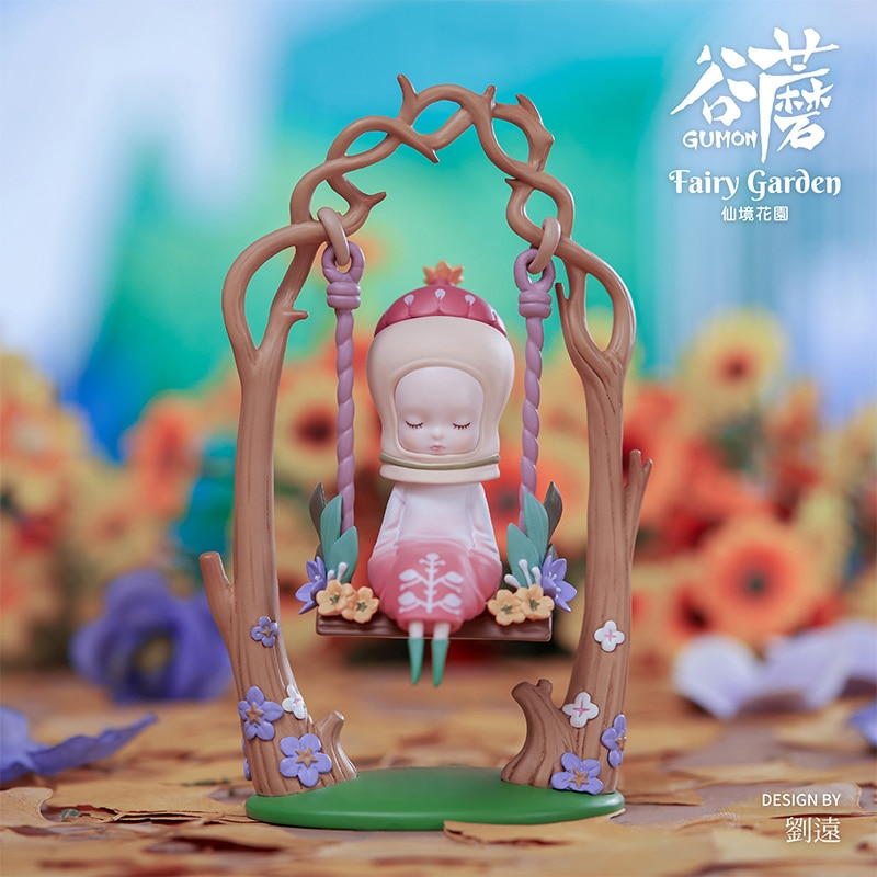 Kawaii Toy GUMON 3rd Generation Wonderland Garden Series Trendy Kid Doll Christmas Gift Desktop Decoration Blind Random Box
