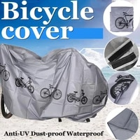 mountain bike accessories covers waterproof dust coat uv protection outdoor 3 colors rainy snowy dusty raincoat protection