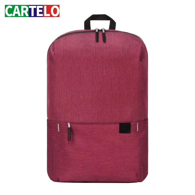 CARTELO Women Backpacks Travel Daypack Laptop Backpack famous brand School Casual mochila female min