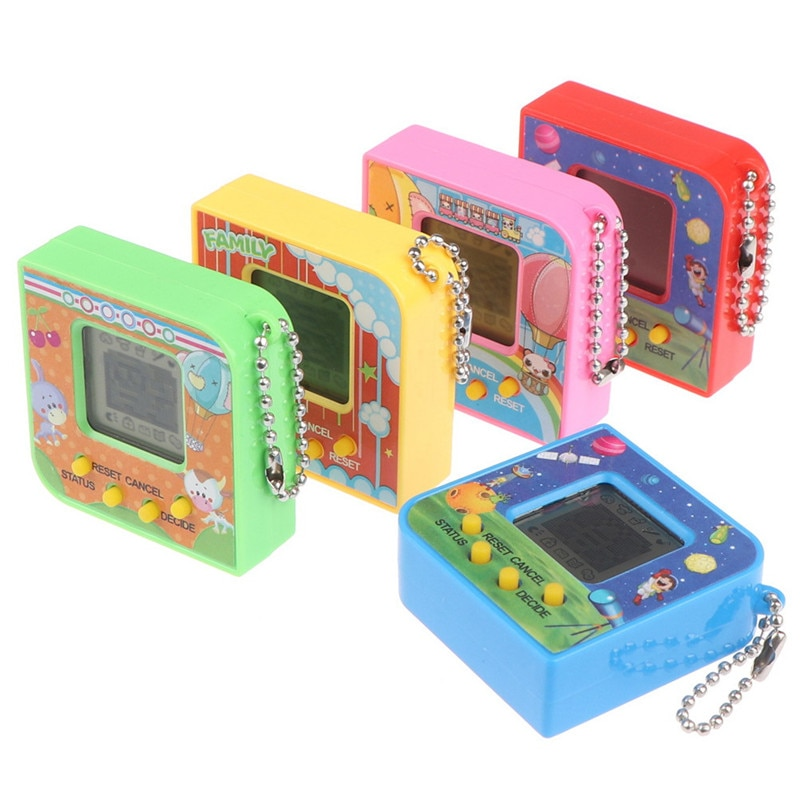 New 1pc 90S Nostalgic 168 Pets Virtual Cyber Pet Toy Tamagotchi Electronic Pets Toys