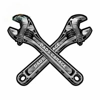 13cm x 12cm for dads garage tools laser cut out man cave metal sign vinyl car stickers car accessories motorcycle bumper decals