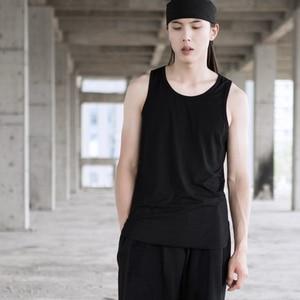 Fashion Personality Circular Pendulum before wearing short and long basic cotton underlay slim vest