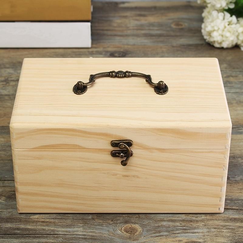 Caja de almacenamiento portátil con 32 ranuras, organizador de aceites esenciales de madera para botellas de 15Ml, estuche organizador con asa