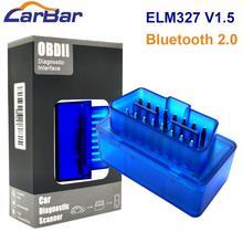 OBD2 Диагностический ELM327 OBD2 Bluetooth V1.5 автомобильный диагностический инструмент автомобильный адаптер сканирования для Android OS и Android автомобильный DVD GPS плеер