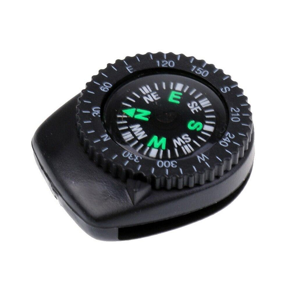 Correa de reloj deslizante para navegación, brújula de muñeca, cinturones de Paracord, brújula extraíble para acampada, brújula para reloj