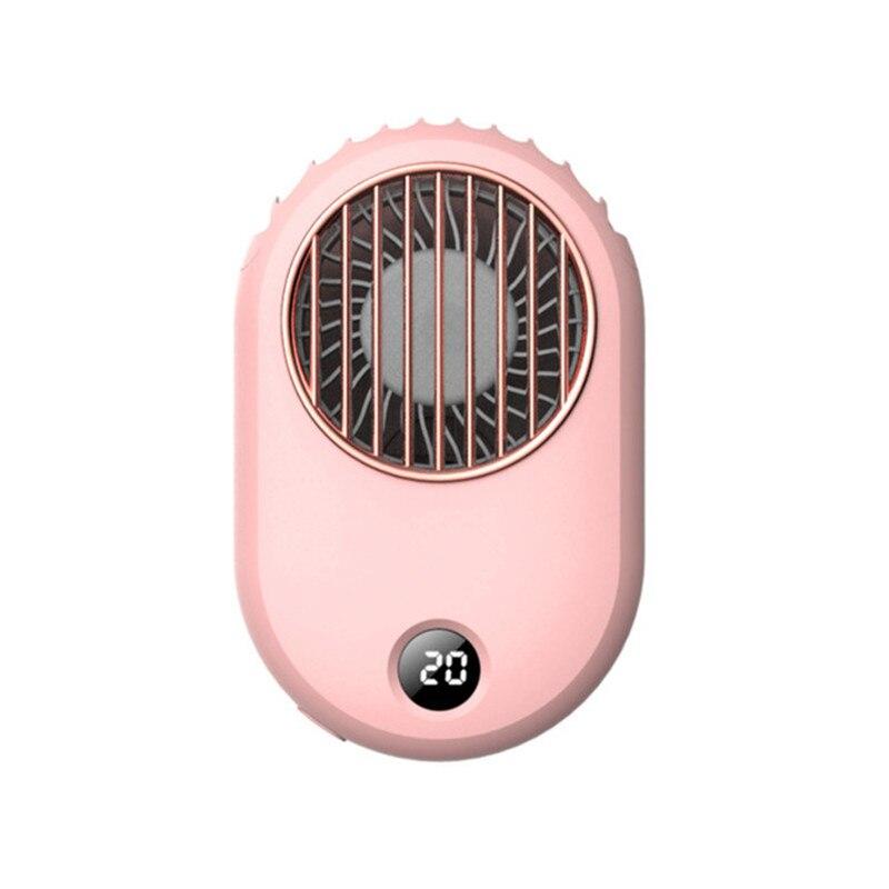 1 unidad, Mini ventilador portátil de verano, ventilador de mano con carga USB para escritorio Personal, ventiladores recargables portátiles para oficina, viajes al aire libre, hogar