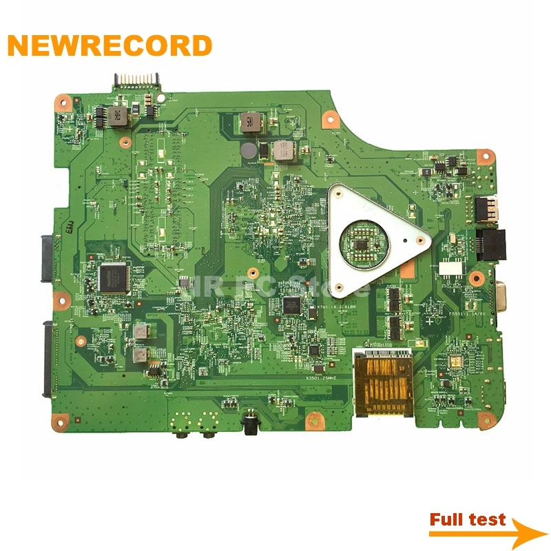 Купить с кэшбэком NEWRECORD for CN-091400 091400 MAIN BOARD For Dell inspiron N5030 Laptop Motherboard GM45 DDR3 Free CPU fully tested