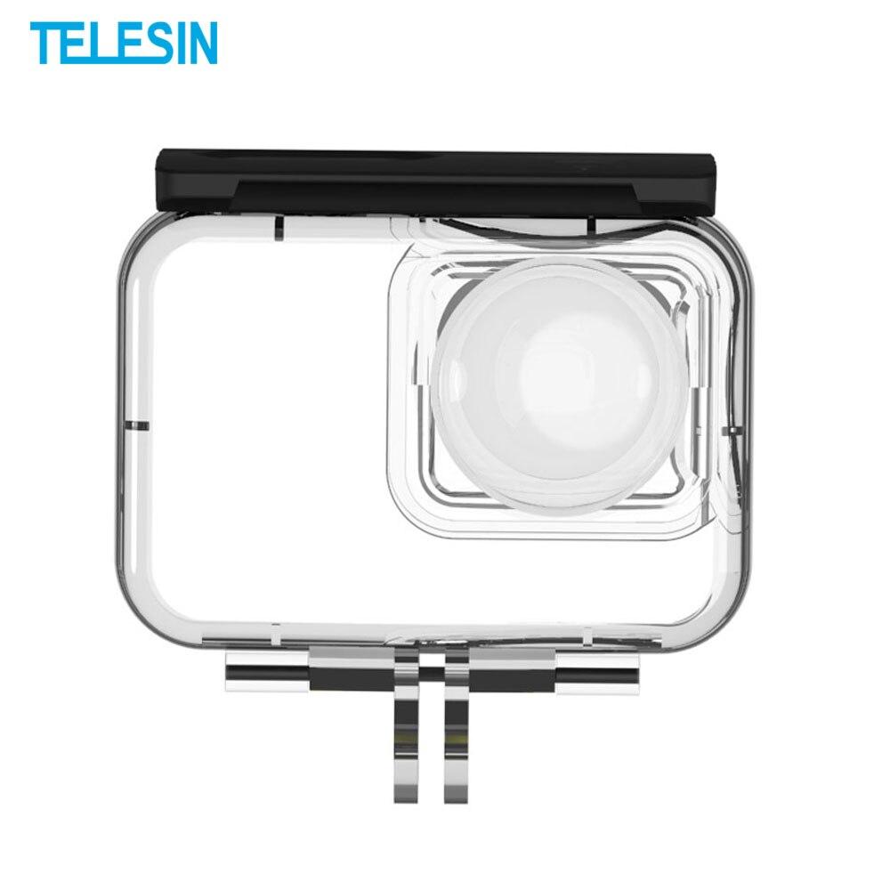 TELESIN Anti-chute plongée étui de protection caméra couverture étanche pour Insta360 ONE R 4K 360 édition panoramique caméra accessoires