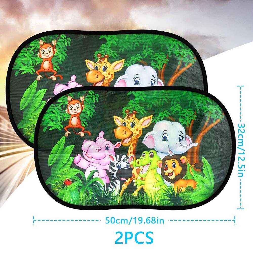 2pcs Window Sunlight Protective Shade Shade Car Sunlight Shade For Kid Baby Pet Windscreen Car