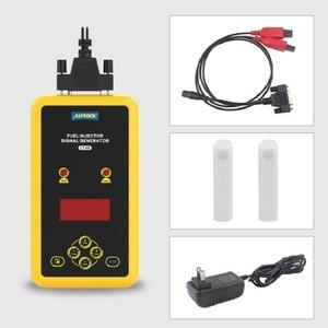 Image 5 - Автомобильный тестер топливного инжектора AUTOOL CT60, тестер сопла топливного инжектора для промывки, тестер давления импульсной очистки CT150 CT200