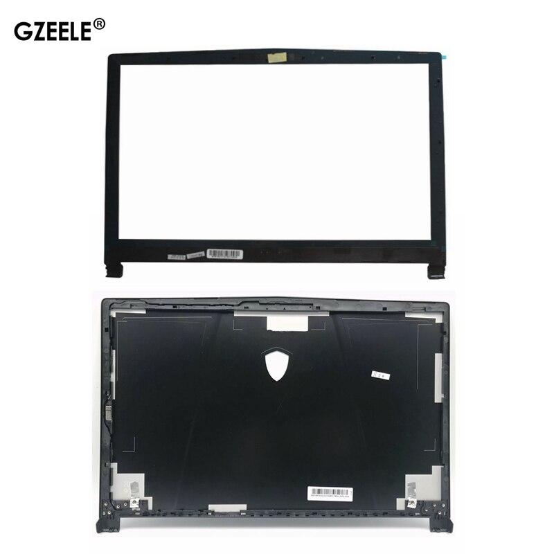 Новый чехол для MSI GE63 GE63VR LCD top cover Чехол 3077C1A213HG017 LCD передняя панель чехол