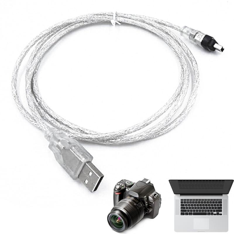 1,5 m Cable de datos USB Cable Firewire 1394 MINI DV videocámara...