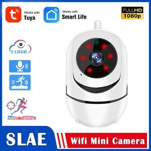Tuya Smartlife HD 1080P Automatic tracking Wifi IP Camera 2MP IR Night Vision Two Way Audio Baby Monitor Wireless Camera Cloud