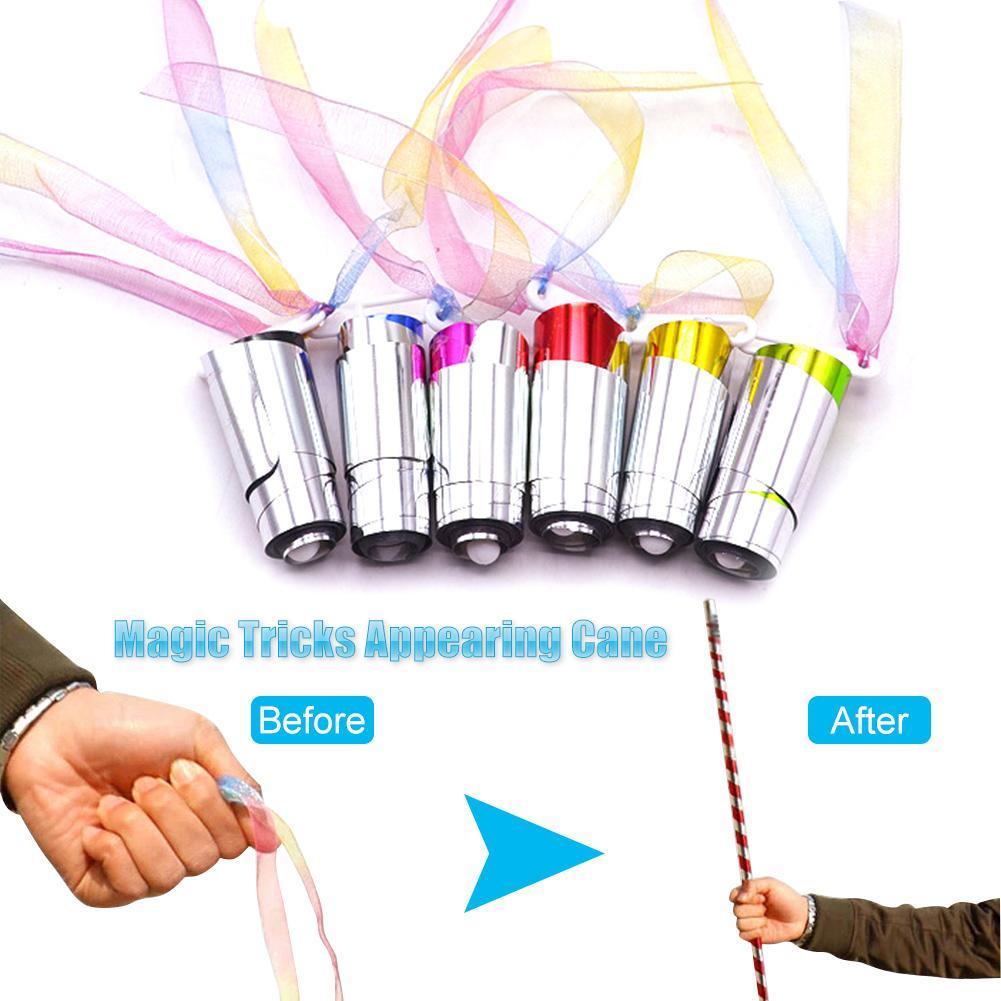 Appearing Wands Gift Mini Cane Magic Appearing Stick Magic Trick Props Magic Show High Quality Magic Tricks Magician Accessories