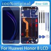 5 2for huawei honor 8 lcd display touch screen for honor8 lcd for honor 8 lcd with frame frd l19 frd l09 replacement