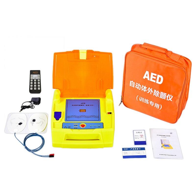 AED التلقائي الرجفان الخارجي الإنعاش القلبي الرئوي محاكاة الإنسان CPR التدريب الخاص التناظرية الرجفان