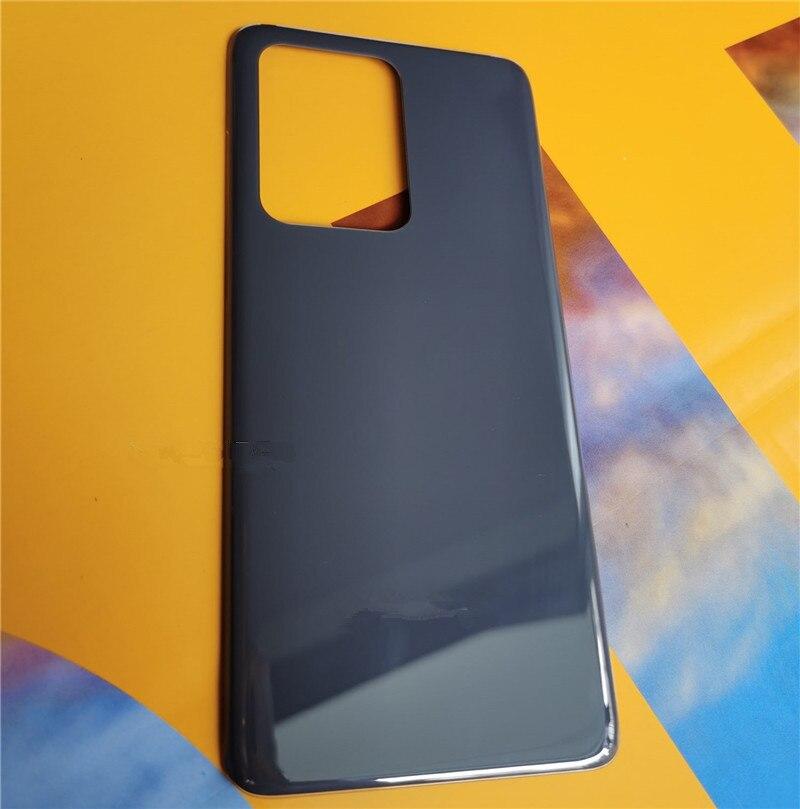 S 20 carcasa Original para Samsung Galaxy S20 reparación de la cubierta de la batería reemplazar la carcasa trasera del teléfono + logotipo