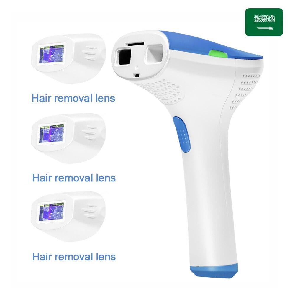 IPL Laser Epilator Hair Removal Machine For Women Professional Bikini Face Body Hair Remover Device Epilator with 1500000 Flashe
