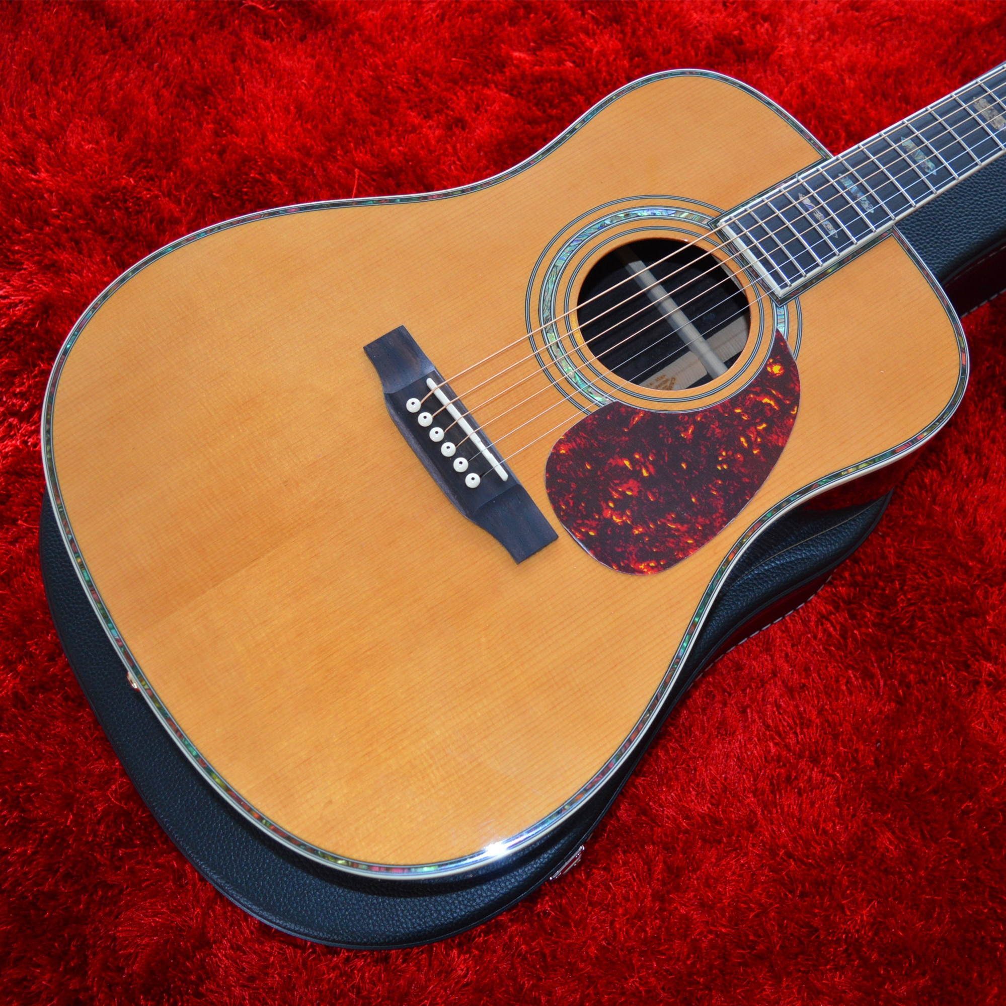 Professional 41 Inches D Style Solid Cedar Top Acoustic Guitar with Rosewood Back and Sides