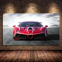 ferraris 488 challenge race car posters wall art pictures decorative prints canvas painting for living room paintings home decor